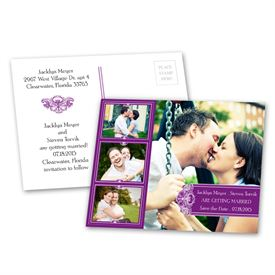 Photo Delight - Grapevine - Save the Date Postcard