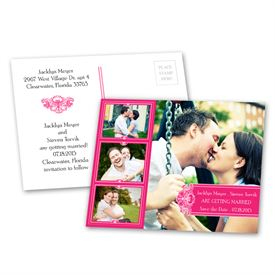 Photo Delight - Lipstick - Save the Date Postcard