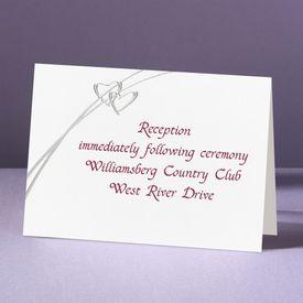 Love Struck - Reception Card