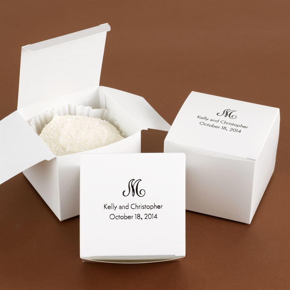 large white cake box ann 39 s bridal bargains. Black Bedroom Furniture Sets. Home Design Ideas