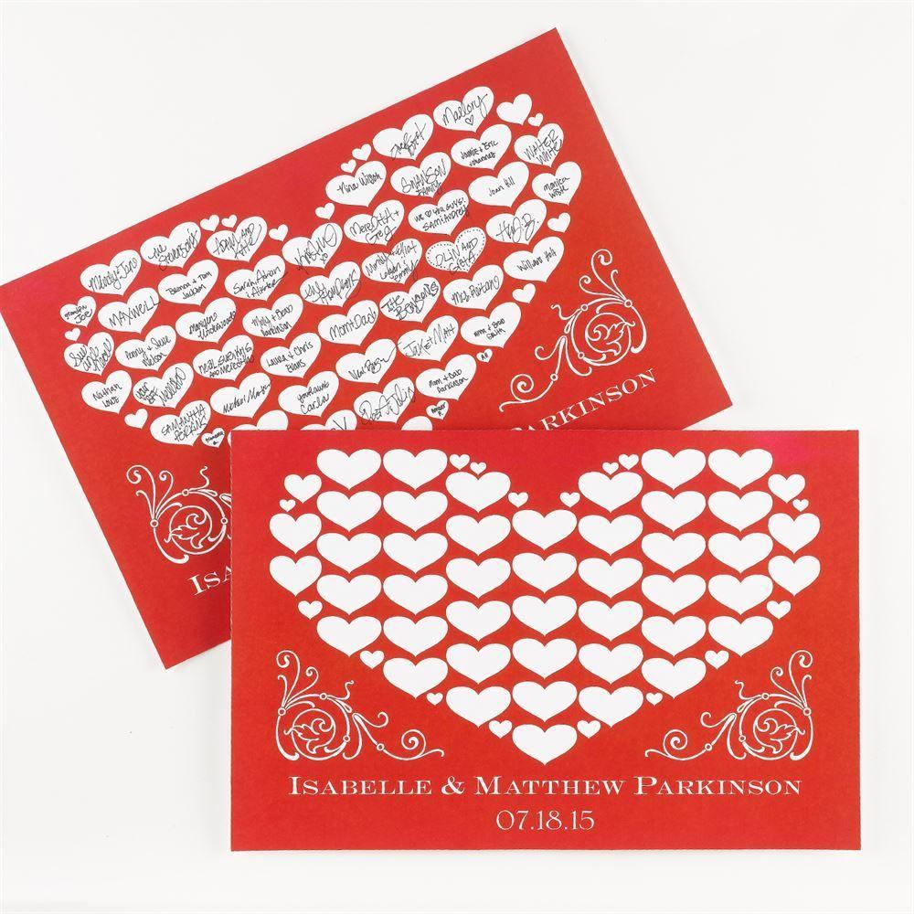 Loving Hearts Signature Poster | Ann\'s Bridal Bargains