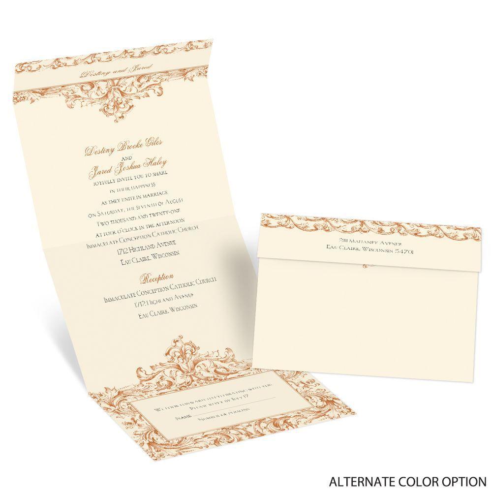 Seal And Send Wedding Invites for luxury invitation design