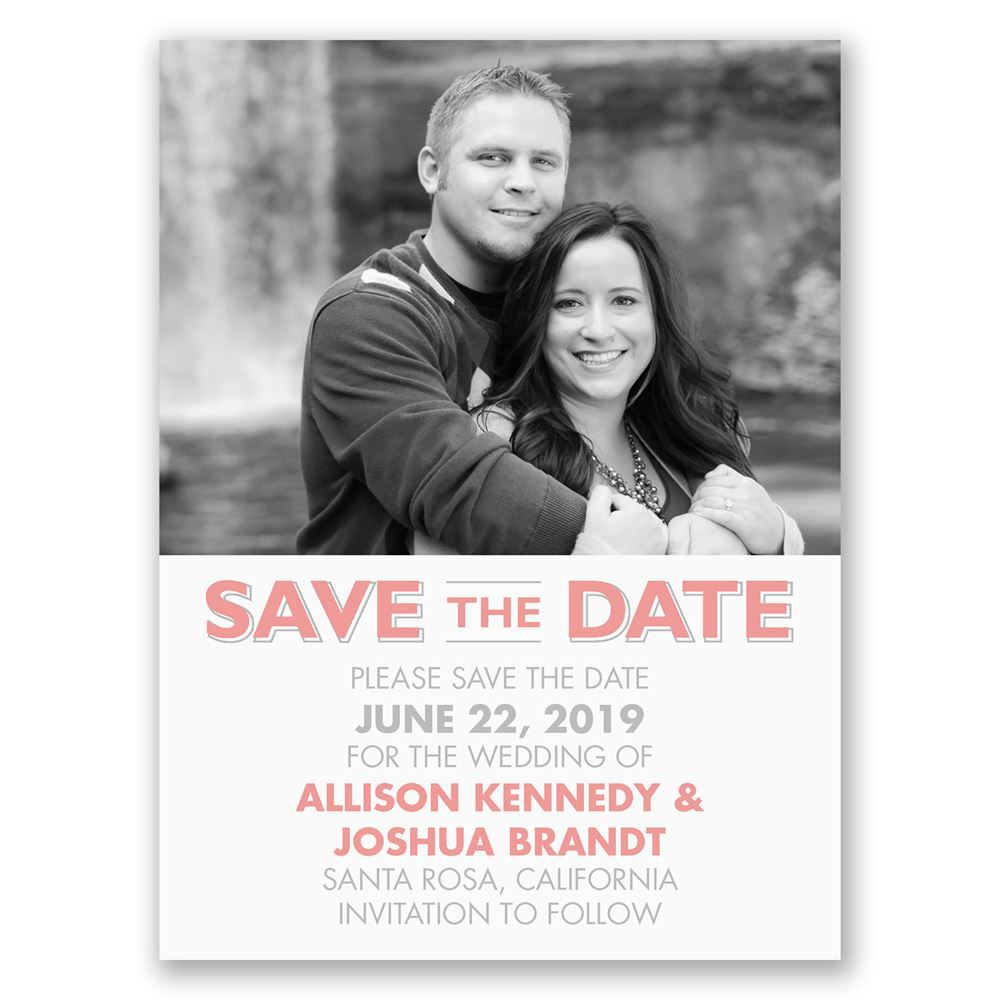 Online save the date cards