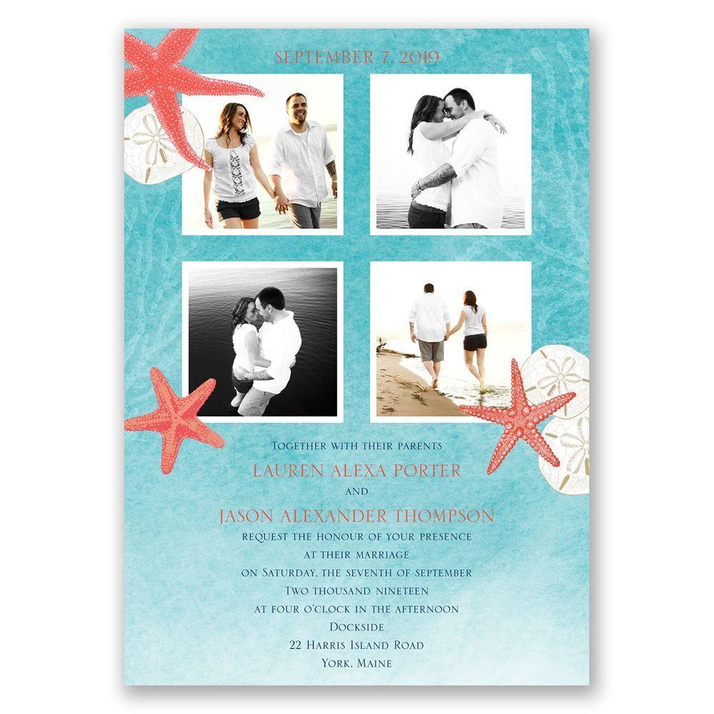 ocean adventure invitation ann s bridal bargains