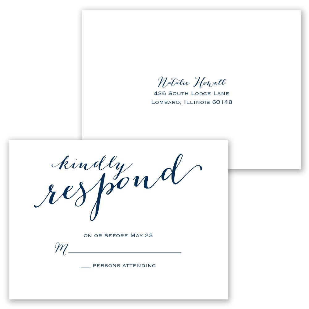 Keep it simple invitation with free response postcard anns keep it simple invitation with free response postcard stopboris Images