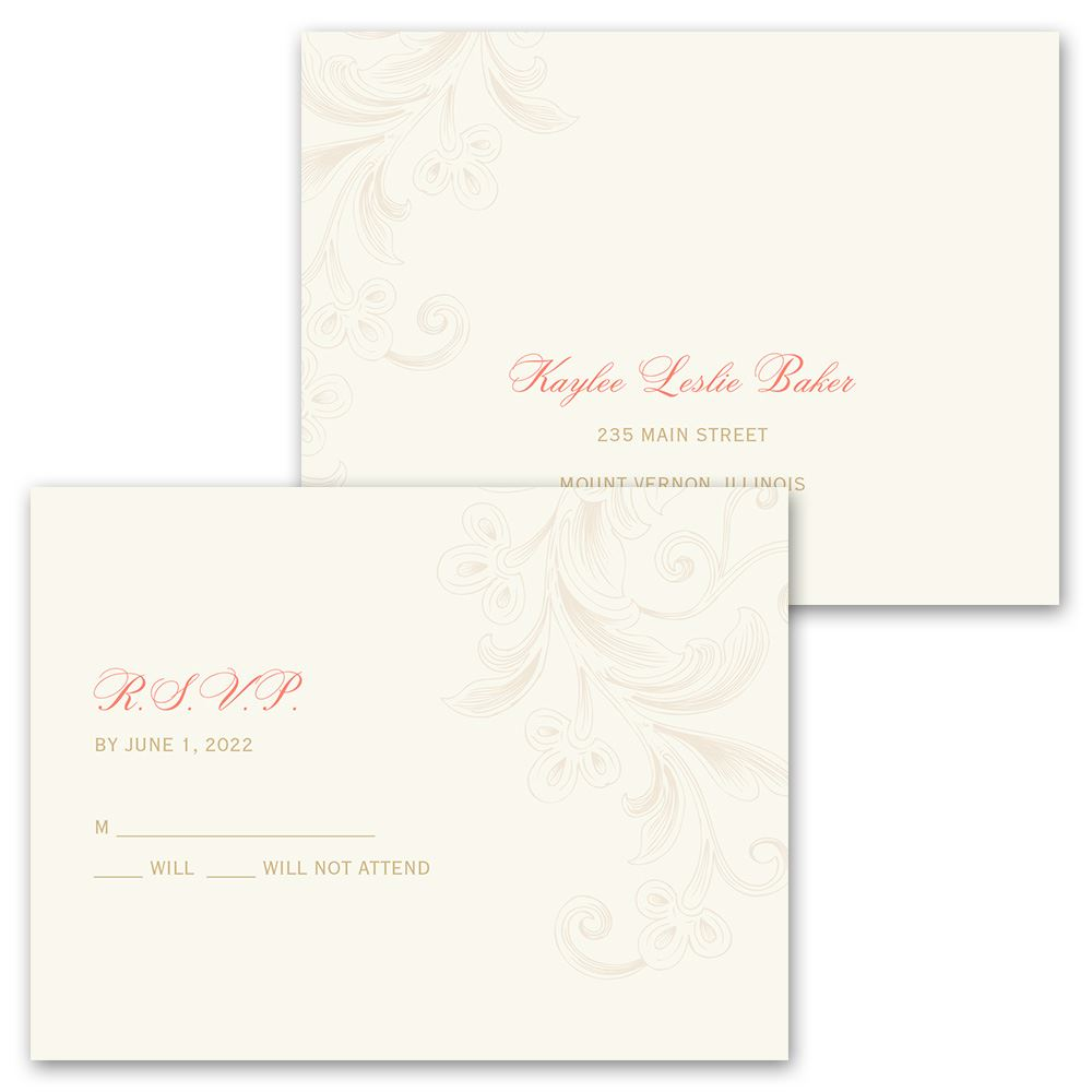 Eiffel Tower Wedding Invitations: Eiffel Tower Wedding Invitation