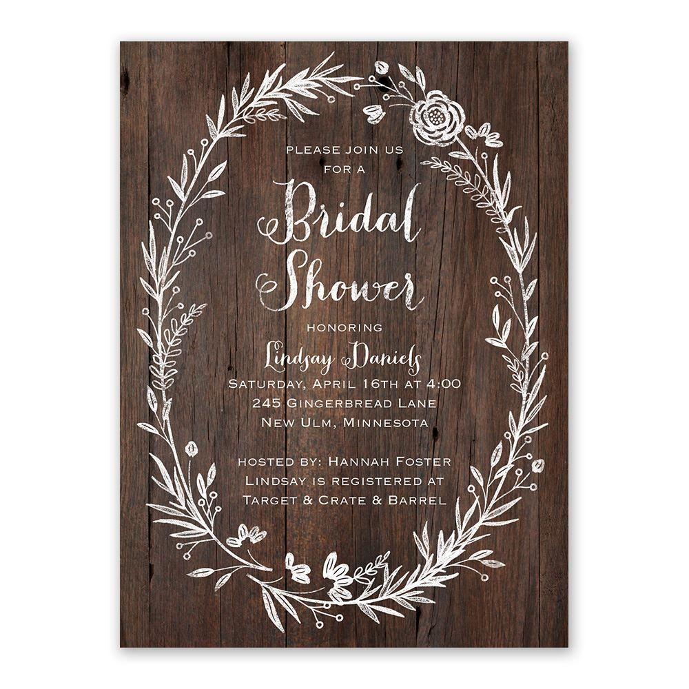 Ever After Bridal Shower Invitation Ann S Bridal Bargains