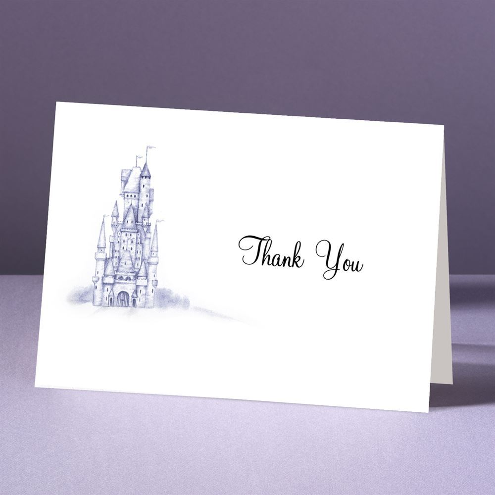 After Wedding Thank You Messages: Happily Ever After Thank You Card And Envelope