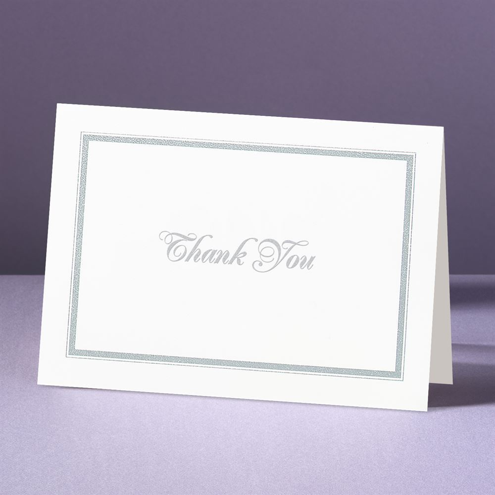 appealing borders thank you card and envelope ann s bridal bargains