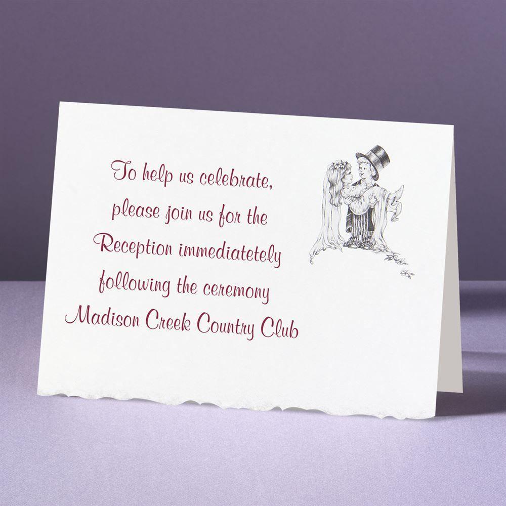 days of innocence reception card