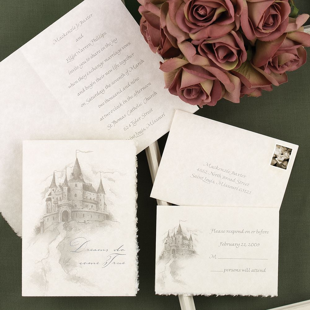 Happily Ever After Invitation | Ann\'s Bridal Bargains