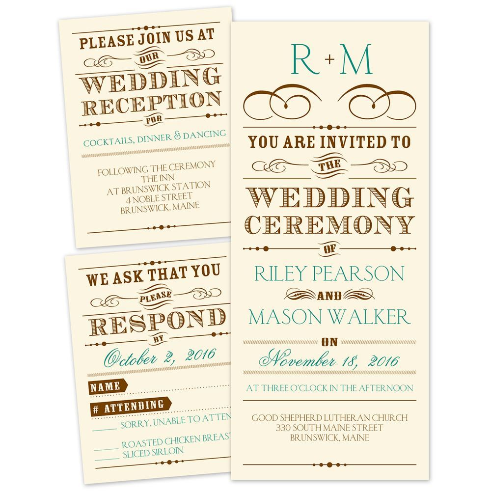 Words For Wedding Invites: Presenting Separate And Send Invitation