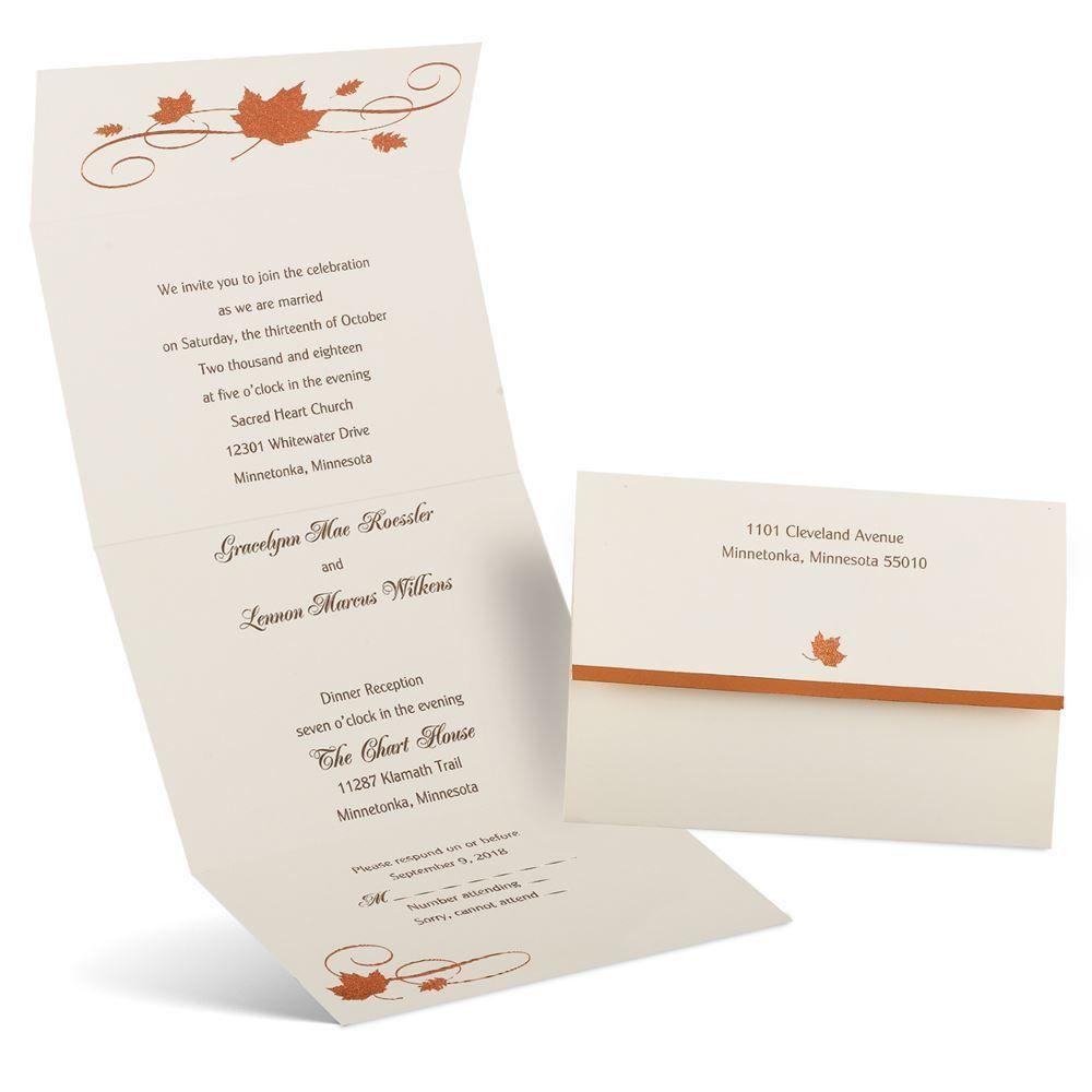Copper Creations Seal And Send Invitation